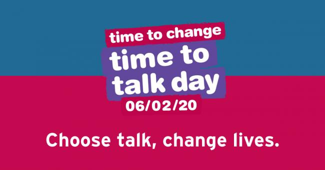 Time to Talk Day took place on 6th February.