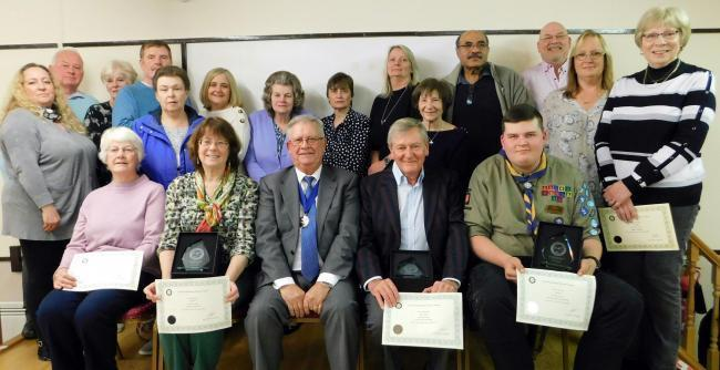 The Annual Parish Assembly Awards in 2019 was handed iut by North Weald Bassett Parish Council chairman Alan Buckley