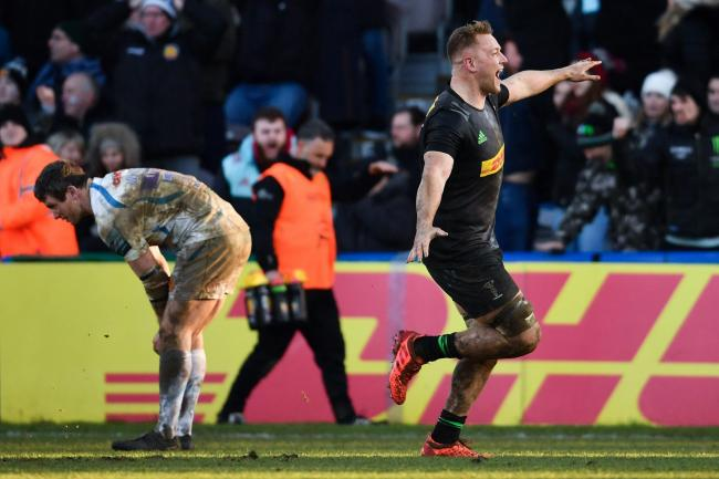 Exeter defeated as Quins snatch impressive victory at the death