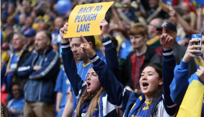 Fans Raise 5 Million to Fund AFC Wimbledon's Dream Return | Raul Malad Whitgift