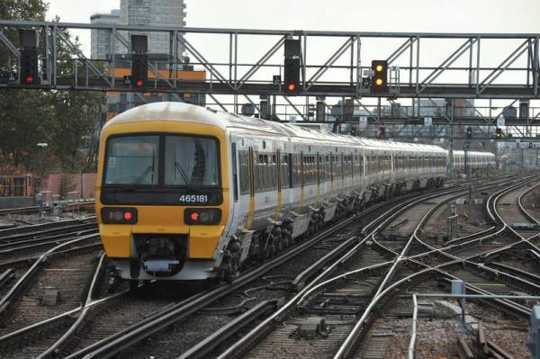 A person has been hit by a train between Herne Hill and Bromley South, according to Southeastern
