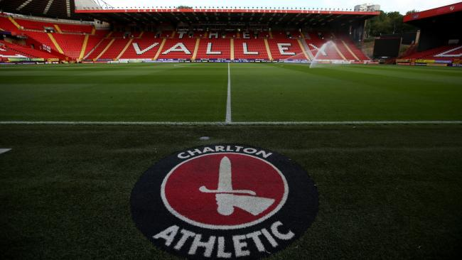 Charlton Athletic's The Valley could be used as a trial for fans returning to English football matches in September.