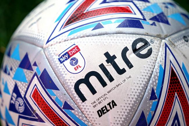 The EFL are keen to play out remaining fixtures. Picture: PA Wire