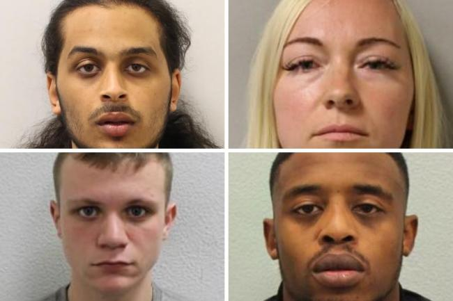 Convicted murderers - The Met Police