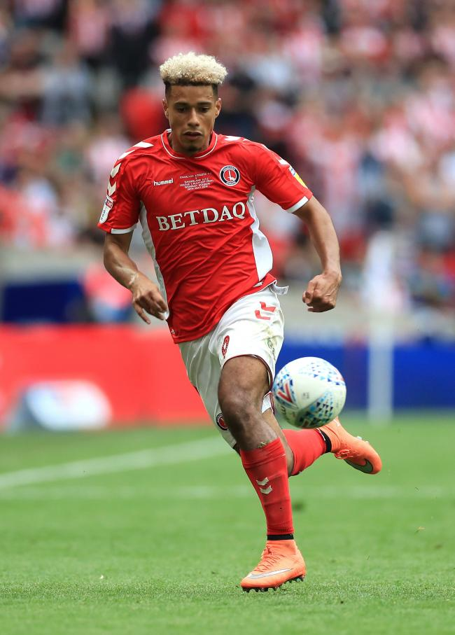 Charlton Athletic's Lyle Taylor, whose manager Lee Bowyer says will not play when the Sky Bet Championship resumes on June 20. Mike Egerton/PA Wire.
