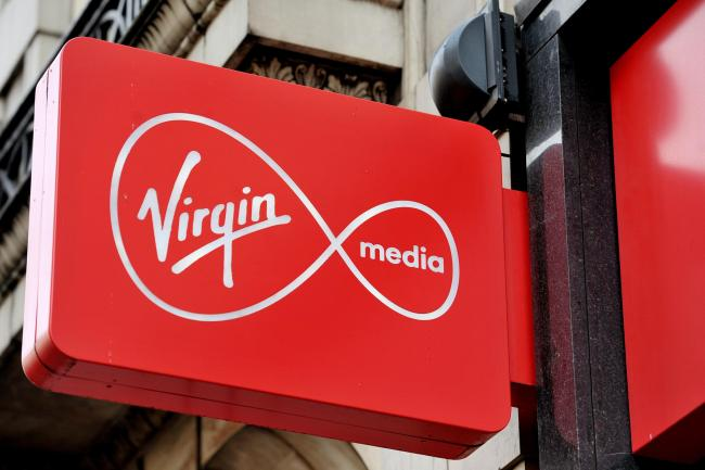 Virgin  Media has gone down across the UK