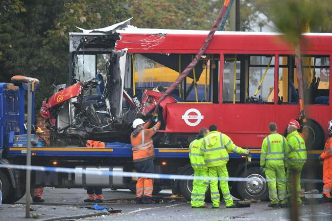 Dorjan Cera has admitted killing bus driver Kenneth Matcham and injuring others after a horror bus crash in Orpington last Halloween.  PA Wire/Giles Anderson