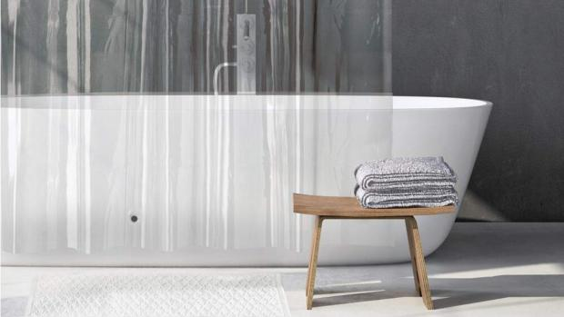 This Is Local London: A clean shower liner will make your bathroom much more welcoming. Credit: Amazon