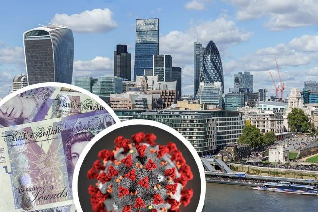 Two thirds of businesses have seen cash flow drop in the last three months (Photo (London skyline): Colin / Wikimedia)