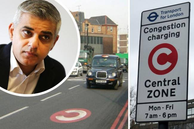 IWGB union is challenging the Mayor's decision to remove the Congestion Charge for private hire drivers.