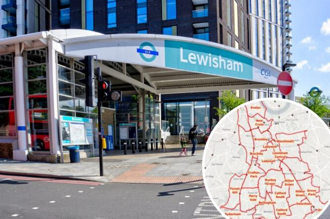 All Lewisham ward boundaries except two are set to change