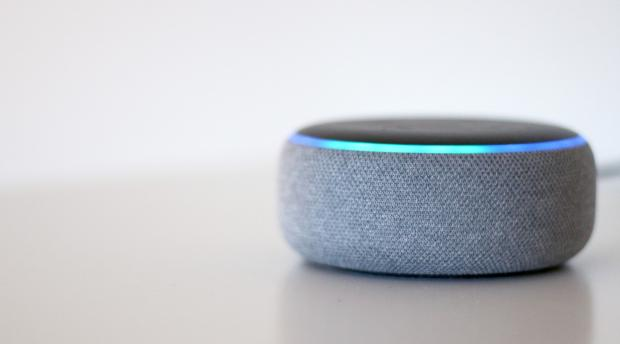 This Is Local London: The Echo Dot (third-generation) is one of the smallest Amazon Echo smart speakers. Credit: Reviewed / Betsey Goldwasser