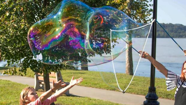 This Is Local London: What's not to love about bubbles? Credit: Etsy / BubblePalooza