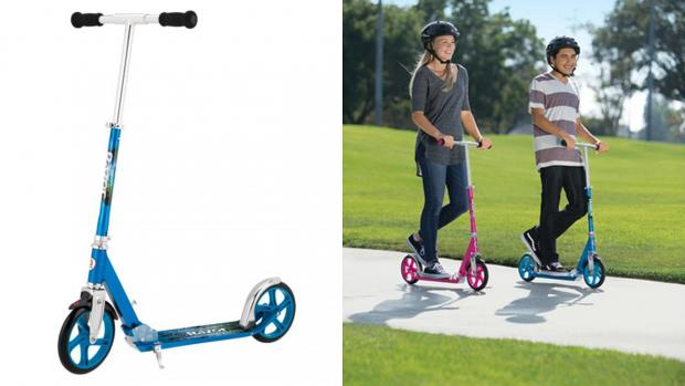 This Is Local London: Get scootin' around your neighbourhood with this deluxe Razor. Credit: Razor