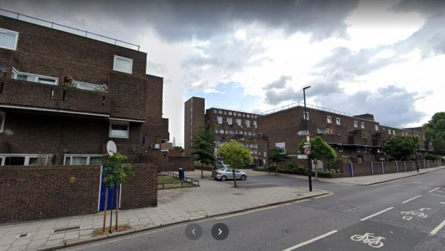The Met Police have launched a murder investigation after a man, 30, was stabbed to death in Black Princess Estate, Kennington, south London.