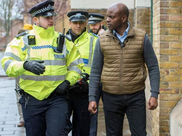 This Is Local London: Mr Bailey has promised to tackle crime in London and boost police numbers to 40,000 (Photo: Pete Maclaine / i-Images)