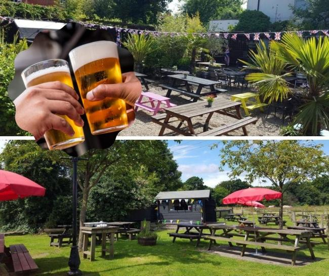 Quench your thirst in one of Bromley's best pub gardens this bank holiday