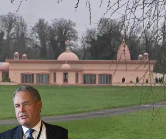 Bob Blackman is in favour of the temple's plans (Photo: Google Maps)