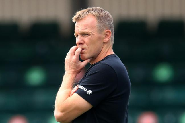 NEW SEASON: Saracens head coach Mark McCall