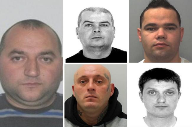 These criminals wanted world-wide are hiding in London and Surrey