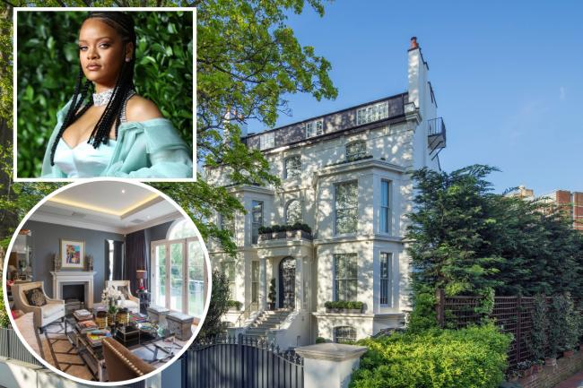 Rihanna's London home has been listed for sale. The mansion in St John's Wood Park is being sold for £32million