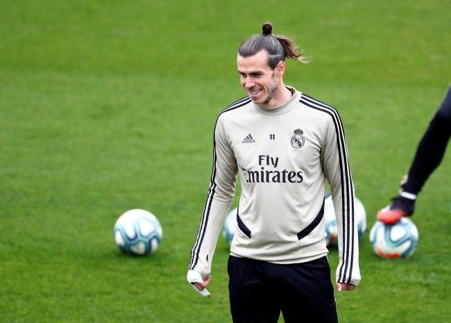 Gareth Bale will fly to London tomorrow. Picture: Action Images