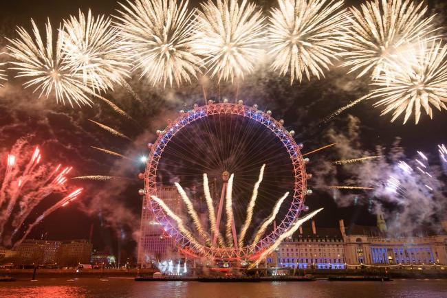 London's New Year's Eve fireworks will be replaced by a stay-home event this year (Photo: Ben Broomfield).