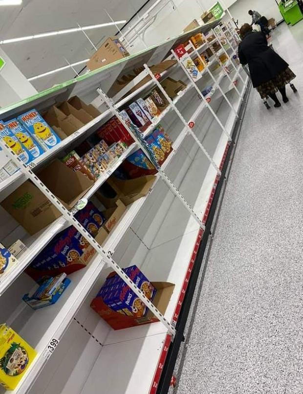 This Is Local London: A picture taken at ASDA in London over the weekend