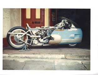 This Is Local London: The twin engine supercharged Triumph Cyclotron Freddie rode to more than 200mph