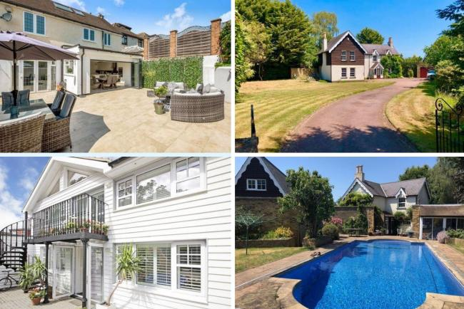 £1million properties of Bexley