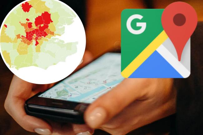 Google Maps will now show users the coronavirus outbreaks in your area