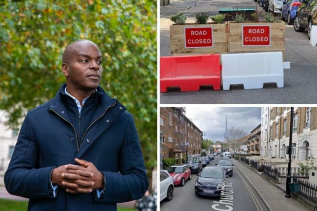 Tory London Mayor candidate Shaun Bailey has pledged to suspend LTNs like the one around Crystal Palace if elected. Images: supplied