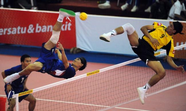 Sepak takraw - the upcoming sport of asia