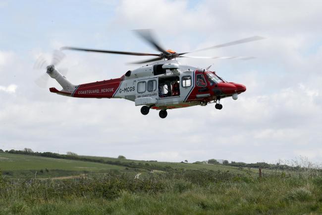 HM Coastguard stock