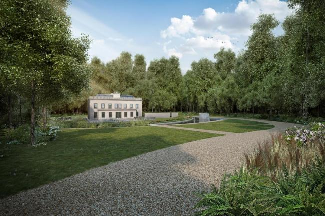 An artist's impression of how Debden Hall III could look