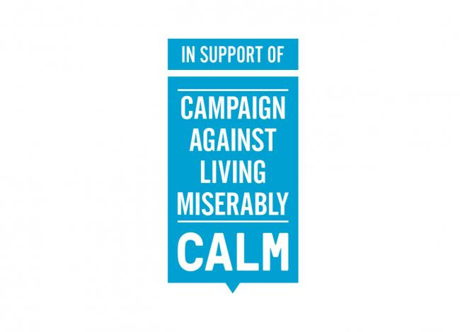 Campaign Against Living Miserably - https://www.thecalmzone.net/
