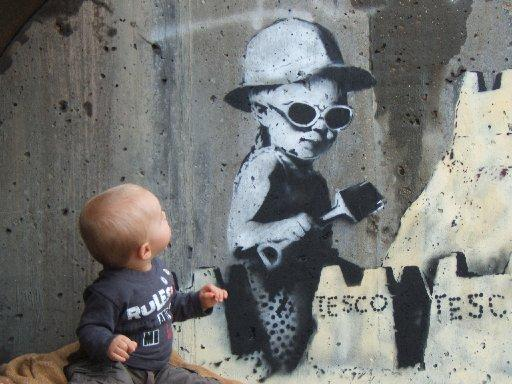 This Is Local London: The mural with Hastings toddler Nathan Williams