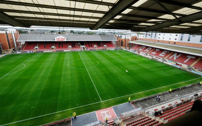 Leyton Orient are preparing to host supporters this weekend. Picture: Action Images