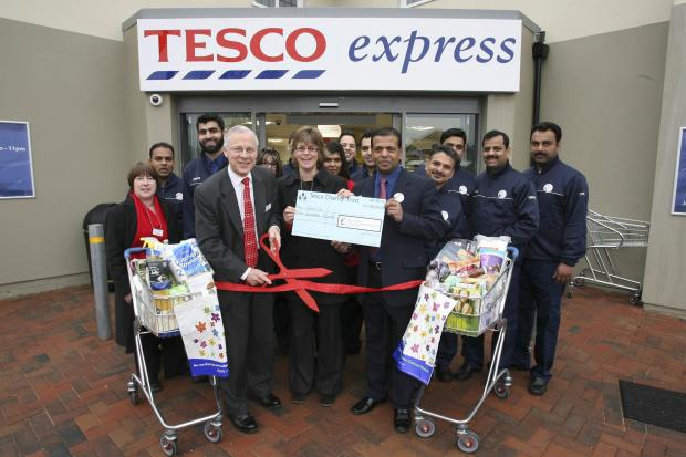 New Tesco Express opens in Wycombe