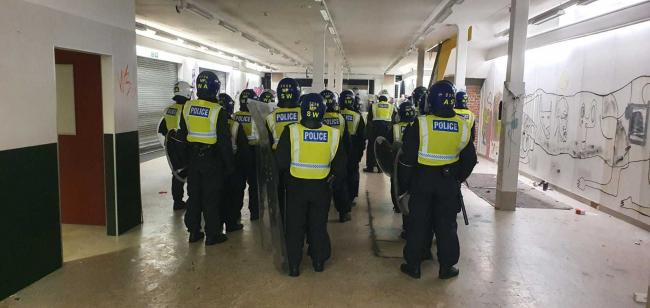 Police break up unlicensed music events - MPS Wandsworth