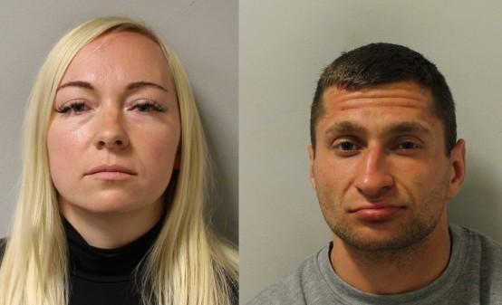 This Is Local London: Asta Juskauskiene and Mantas Kvedaras. Images: Met Police