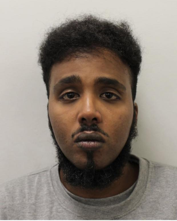 This Is Local London: Yasin Omar Amare. Image: Met Police