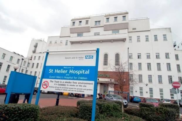 This Is Local London: St Helier Hospital, Sutton