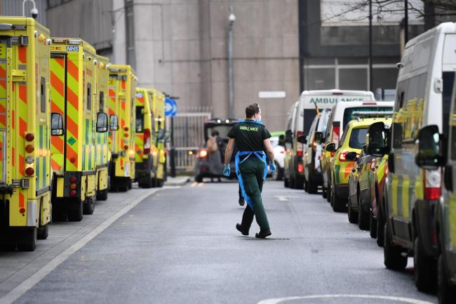 Britain's Covid-19 death toll climbed by 1,027 in England today