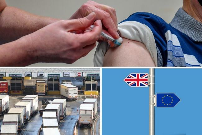 Experts have said they are 'confident' that vaccine supplies will not be impacted by Brexit. Credit: PA/Newsquest