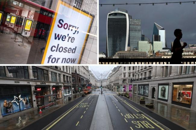 The dramatic fall in visitors to central London has had a huge impact on its economy. Credit: PA/Newsquest