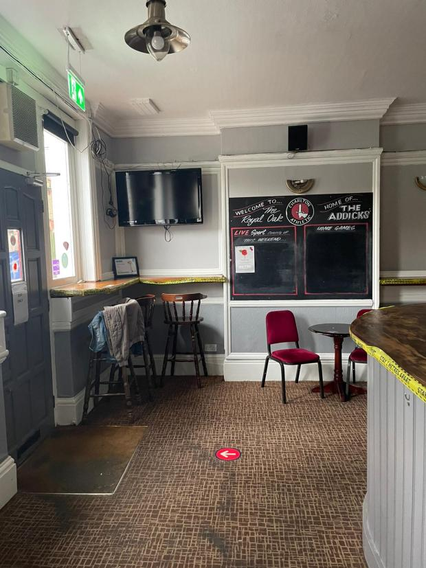This Is Local London: The Royal Oak - before the refurbishment.