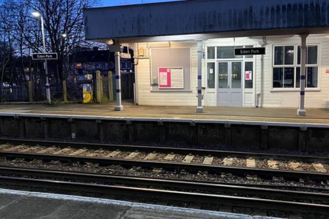 An investigation has found that a lack of tactile paving at Eden Park station contributed to the death of a visually impaired man last year. Credit: PA