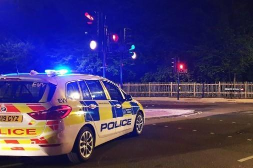 A police chase in south London has left three women in hospital.