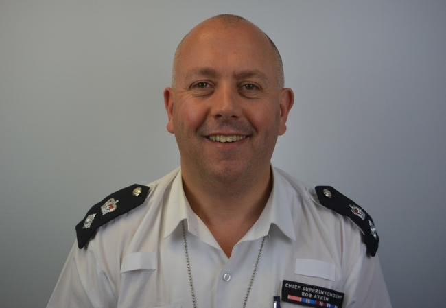 Chief Superintendent Rob Atkin MBE